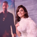 Hollywood, CA - January 14, 2020: Vanessa Hudgens attends the Los Angeles Premiere of Columbia Pictures BAD BOYS FOR LIFE.