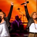 """LOS ANGELES, CA - DECEMBER 11: Mary Mary appears on the 2010 BET """"Celebration of Gospel"""" at the Orpheum Theatre, December 11, 2010 in Los Angeles, California. (Photo by Phil McCarten/PictureGroup)"""