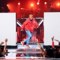 Chris Brown performs onstage during the 2015 BET Awards