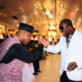 bright-chimezie-exchanging-pleasantries-with-sir-shina-peters-at-the-coson-in-the-church