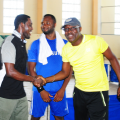contenders-ay-and-dr-ayuba-shake-hands-as-okeke-and-sureboy-looks-on