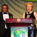 coson-chair-chief-okoroji-and-mrs-olsen-at-the-special-recogintion-ceremony-for-mrs-olsen-at-the-coson-green-ball
