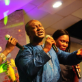 panam-percy-paul-and-his-back-up-singers-thrilling-the-guests-at-the-coson-in-the-church