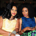 queen-ure-and-actress-oge-okoye-at-the-coson-in-the-church