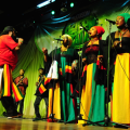 reggae-star-ras-kimono-and-his-girls-entertaining-guests-at-the-coson-green-ball