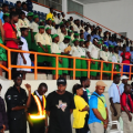 the-audience-singing-the-national-anthem-at-the-coson-all-stars-table-tennis-blowout