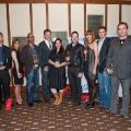 at the Dallas International Film Festival Awards Ceremony @ Hotel Palomar.