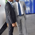 mr Abiona Babarinde, General manager and marketing  corporate service coscharis group, and mr Felix Malani, Brand manager ford coscharis mortors