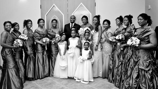 XTRA Clips On The Ini Edo And Philip Ehiagwina Wedding In
