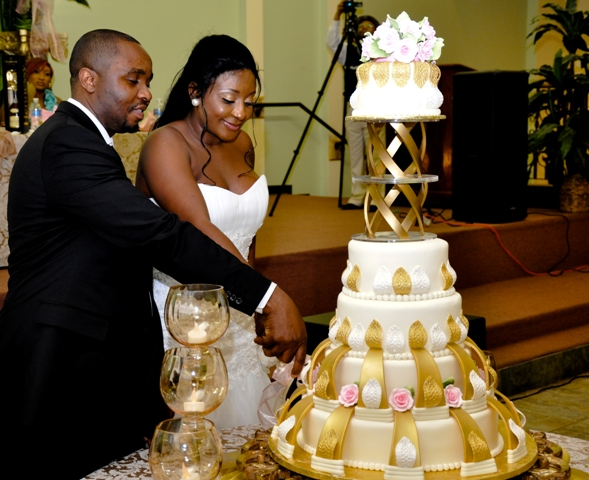 A Glimpse At The Nuptial Between Ini Edo And Philip