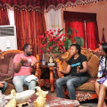 thumbs crew pic Majid Michel, Ini Edo star in Knocking on Heavens door