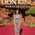 """HOLLYWOOD, CALIFORNIA - JULY 09: Michelle Williams attends the World Premiere of Disney's """"THE LION KING"""" at the Dolby Theatre on July 09, 2019 in Hollywood, California. (Photo by Alberto E. Rodriguez/Getty Images for Disney)"""