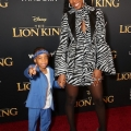 "HOLLYWOOD, CALIFORNIA - JULY 09: Titan Jewell Weatherspoon (L) and Kelly Rowland attend the World Premiere of Disney's ""THE LION KING"" at the Dolby Theatre on July 09, 2019 in Hollywood, California. (Photo by Jesse Grant/Getty Images for Disney)"