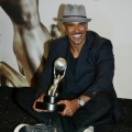 Actor Shemar Moore, winner of the award for Outstanding Actor in a Drama Series for Criminal Minds