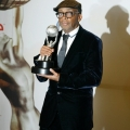 Director Spike Lee accepts the President's Award
