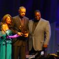 Ben Bruce accepts award