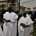 Governor Babatunde Fashola of Lagos, at the church.JPG