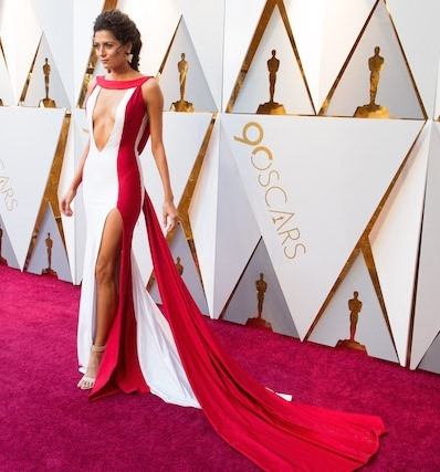 Blanca Blanco arrives on the red carpet of The 90th Oscars® at the Dolby® Theatre in Hollywood, CA on Sunday, March 4, 2018.