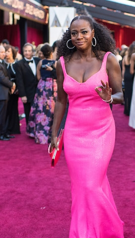 Viola Davis arrives on the red carpet of The 90th Oscars® at the Dolby® Theatre in Hollywood, CA on Sunday, March 4, 2018.