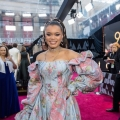 Andra Day arrives on the red carpet of The 90th Oscars® at the Dolby® Theatre in Hollywood, CA on Sunday, March 4, 2018.