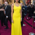 Eiza González arrives on the red carpet of The 90th Oscars® at the Dolby® Theatre in Hollywood, CA on Sunday, March 4, 2018.