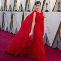 Sofia Carson arrives on the red carpet of The 90th Oscars® at the Dolby® Theatre in Hollywood, CA on Sunday, March 4, 2018.