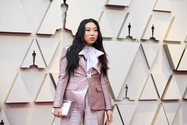 Awkwafina arrives on the red carpet of The 91st Oscars® at the Dolby® Theatre in Hollywood, CA on Sunday, February 24, 2019.