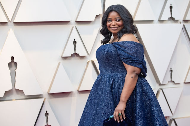Octavia Spencer arrives on the red carpet of The 91st Oscars® at the Dolby® Theatre in Hollywood, CA on Sunday, February 24, 2019.