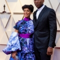 Amatus Sami-Karim and Mahershala Ali, Oscar® nominee, arrive on the red carpet of The 91st Oscars® at the Dolby® Theatre in Hollywood, CA on Sunday, February 24, 2019.