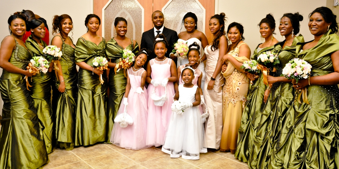 Xtra Clips On The Ini Edo And Philip Ehiagwina Wedding In Houston Texas