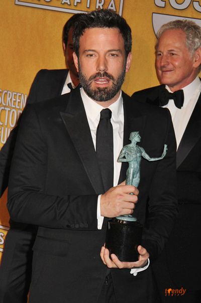 Actor and director of movie Argo Ben Affleck