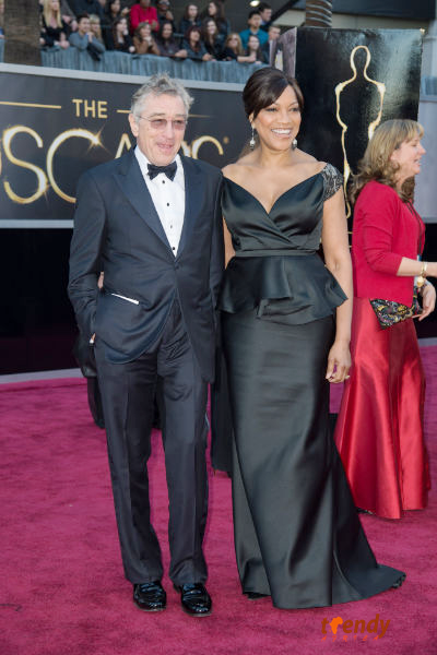 Robert De Niro and Grace Hightower  - photo by Sara Wood