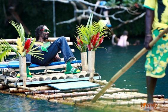 Snoop Lion in Jamaica