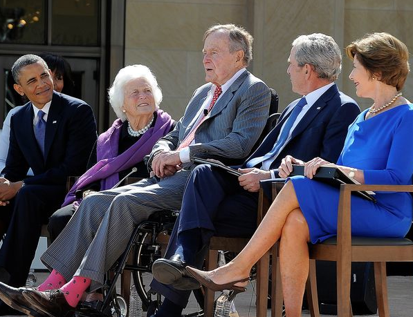 blap 1 George W. Bush Presidential Center Opening in Dallas