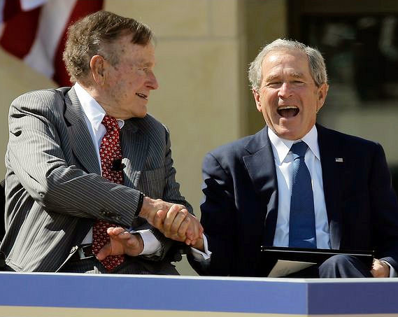 blap 2 George W. Bush Presidential Center Opening in Dallas