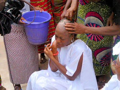 chika ike 3 Nollywood Actress Chika Ike shaves hair for movie role