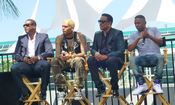 Chris Tucker Chris Brown Charlie Wilson and Kendrick Lamar 2Face, Ice Prince tapped for 2013 BET Awards