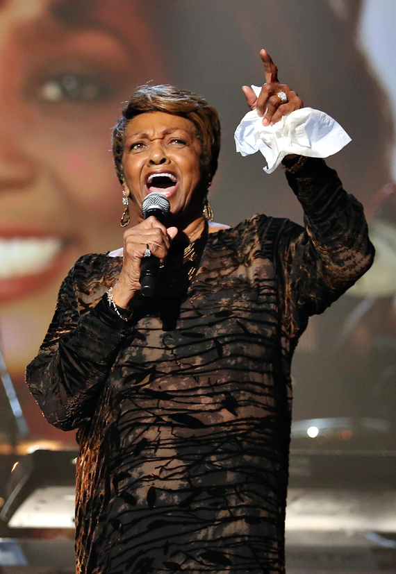 Cissy Houston performing a Whitney tribute at the 2012 BET Awards Chris Tucker to host The BET Awards