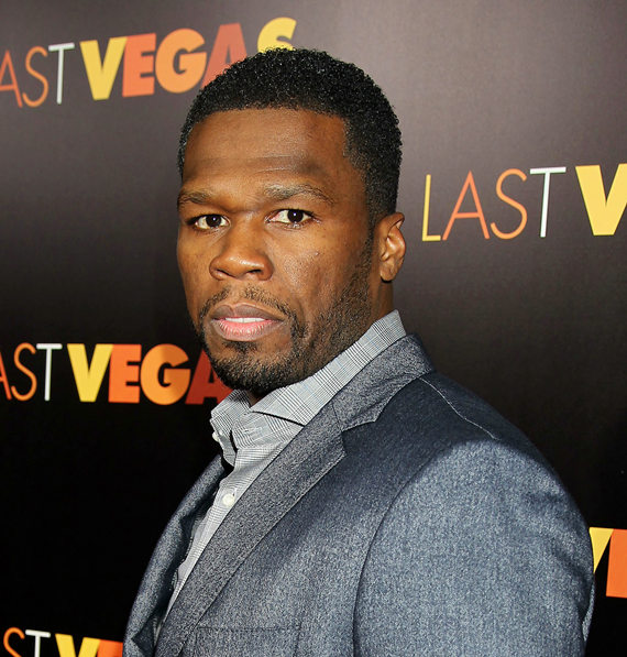 Curtis _50 Cents_ Jackson at the New York premiere of Last Vegas - Copy