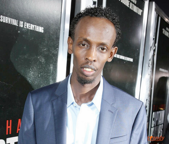 Barkhad Abdi at the red carpet screening of Captain Phillips Copy