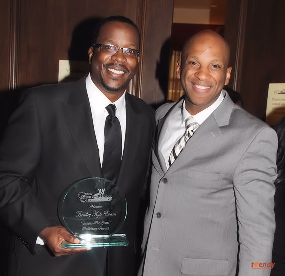 Bentley Kyle Evans and Donnie McClurkin - photo by Royalty Image - Copy
