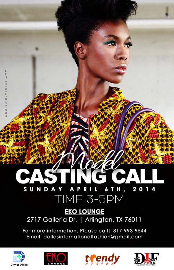 multi national models audition for dallas international fashion