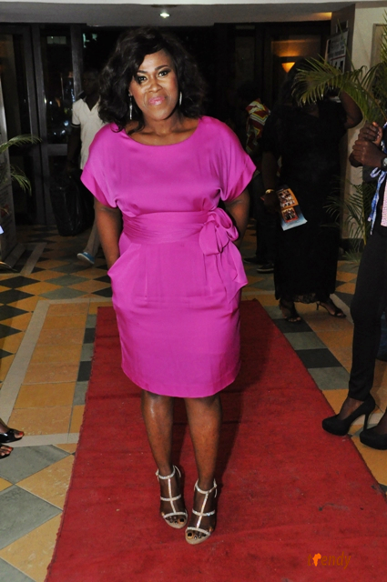 UcheJombo2 Lagos Movie Premiere: 'Knocking On Heavens Door'