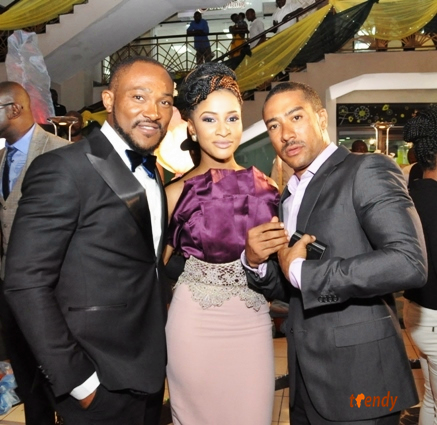 cast3 Lagos Movie Premiere: 'Knocking On Heavens Door'