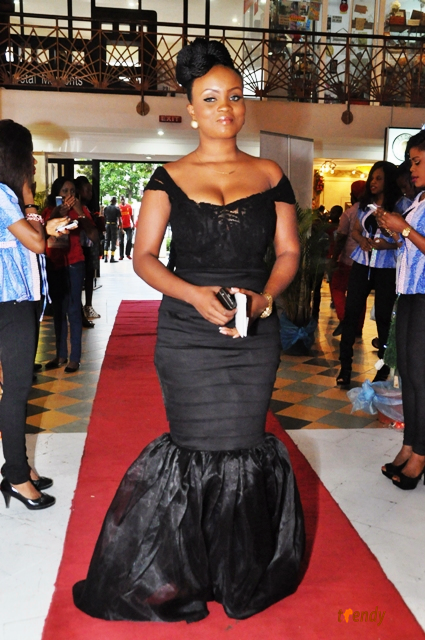 kensFiance Lagos Movie Premiere: 'Knocking On Heavens Door'