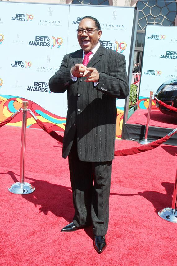 Dr Bobby Jones at the 2009 BET Awards
