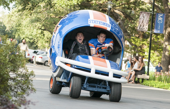 Jonah Hill, left, and Channing Tatum  - photo by Glen Wilson