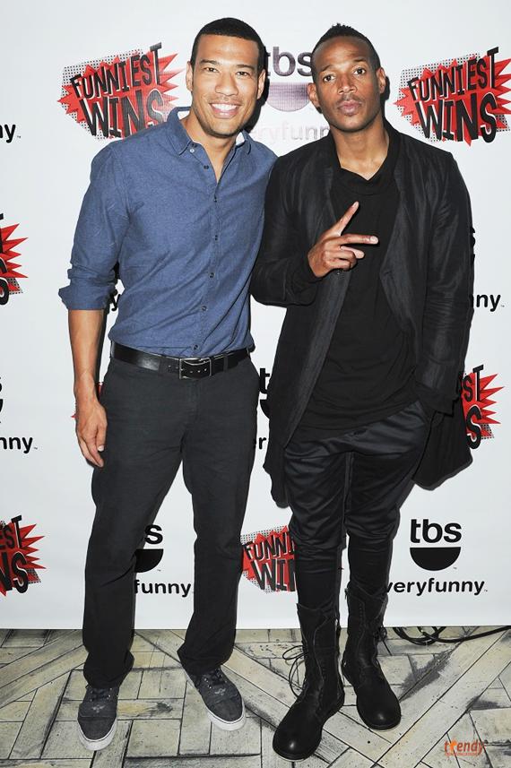 Michael Yo Marlon Wayans 2 rsz Marlon Brings Humor to TBS