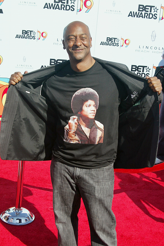 Stephen Hill honouring Jackson at the 2009 BET Awards
