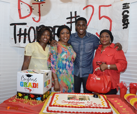 djt 027 Graduation Reception for DJ Thorpe